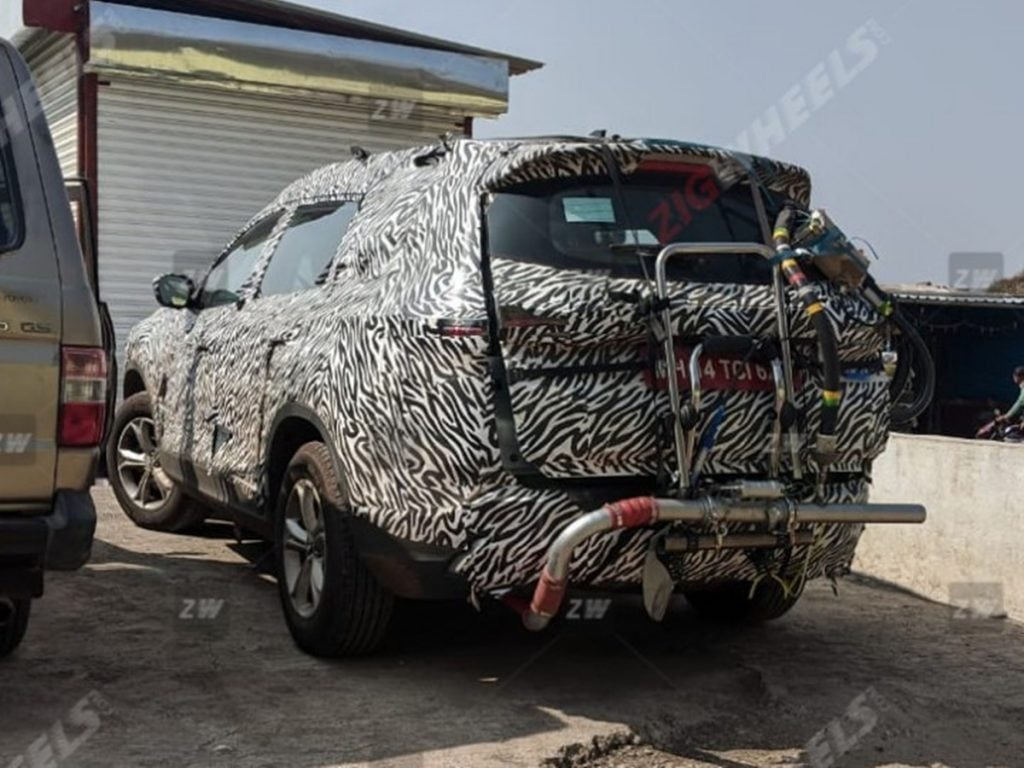 Tata Gravitas Spied Testing For Emission Norms.
