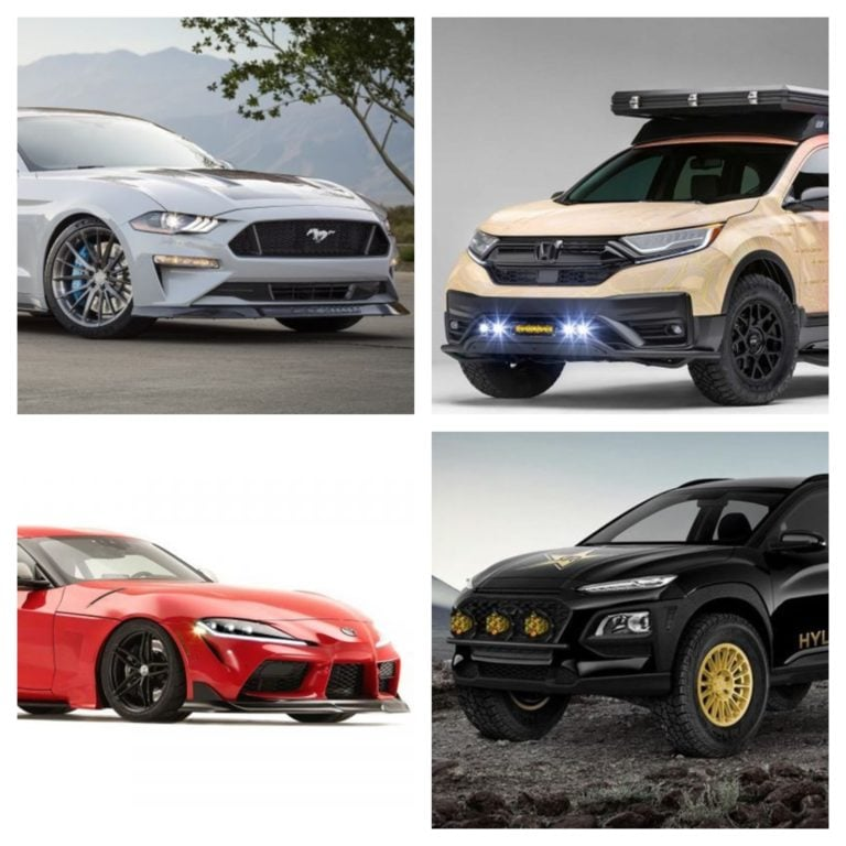 Top Five Cars From The 2019 SEMA Motor Show!