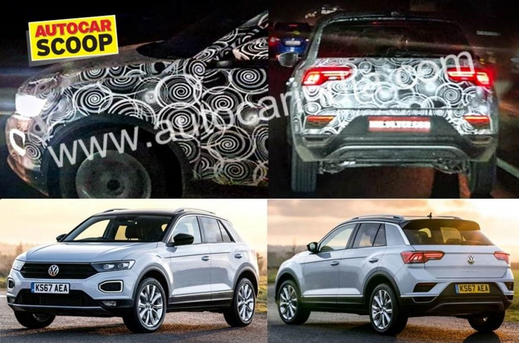 Volkswagen T-Roc SUV finally spotted testing in India for the first time.