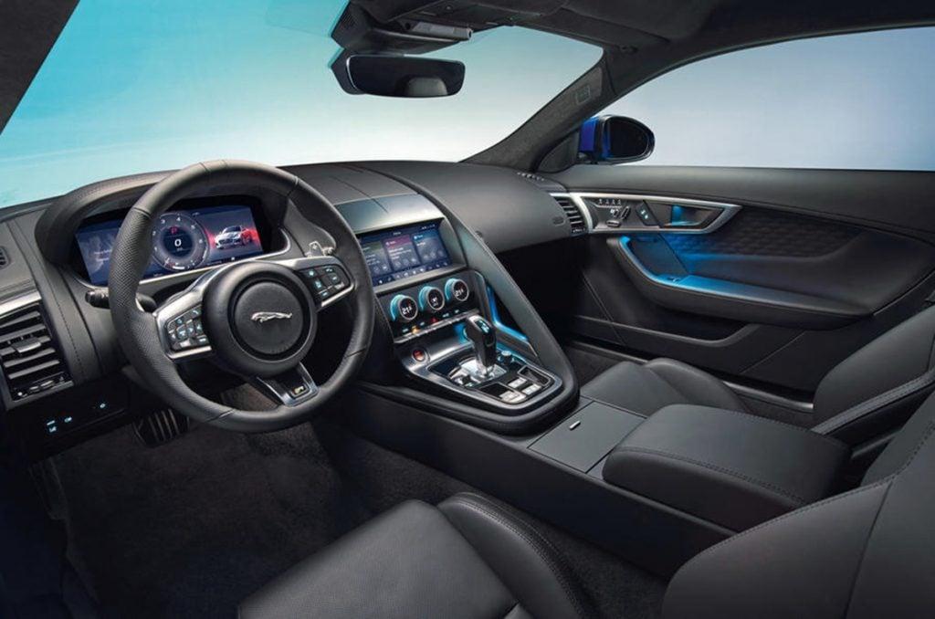 2020 Jaguar F-Type facelift interiors