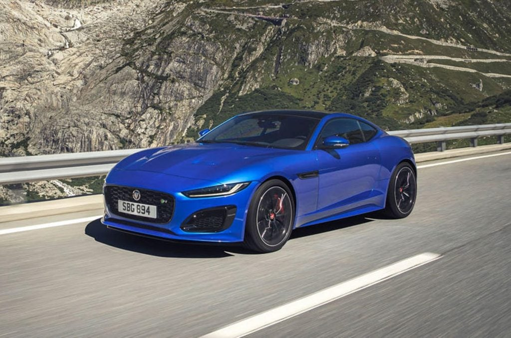 Jaguar Unveils The 2020 F Type Coupe Facelift Globally