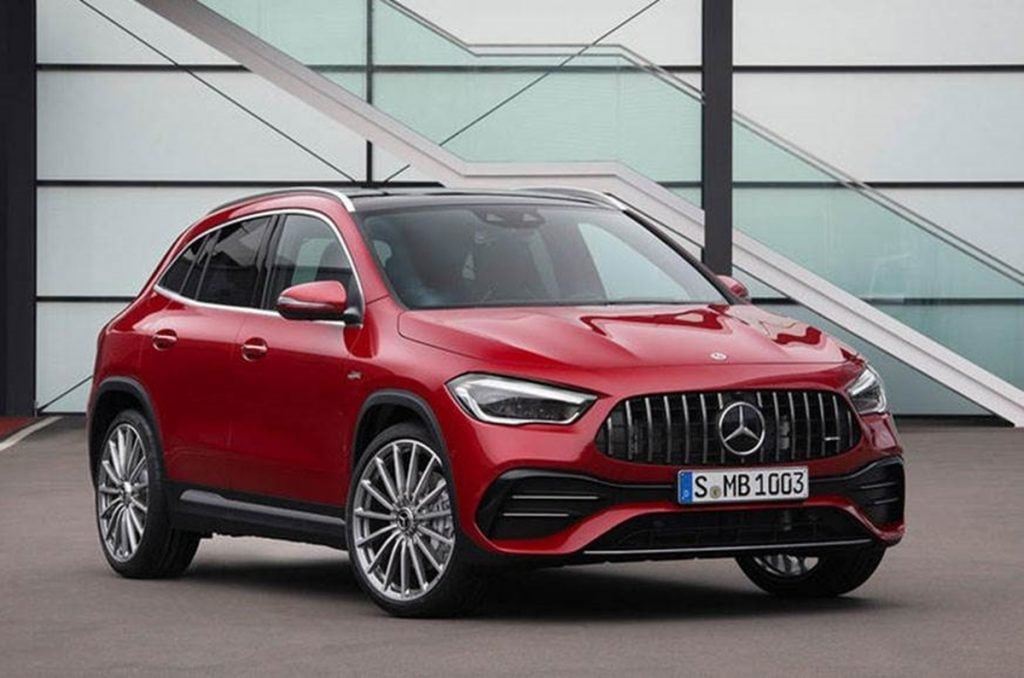 This is the Mercedes-AMG GLA 35