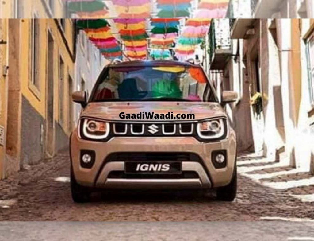 New Maruti Ignis Facelift