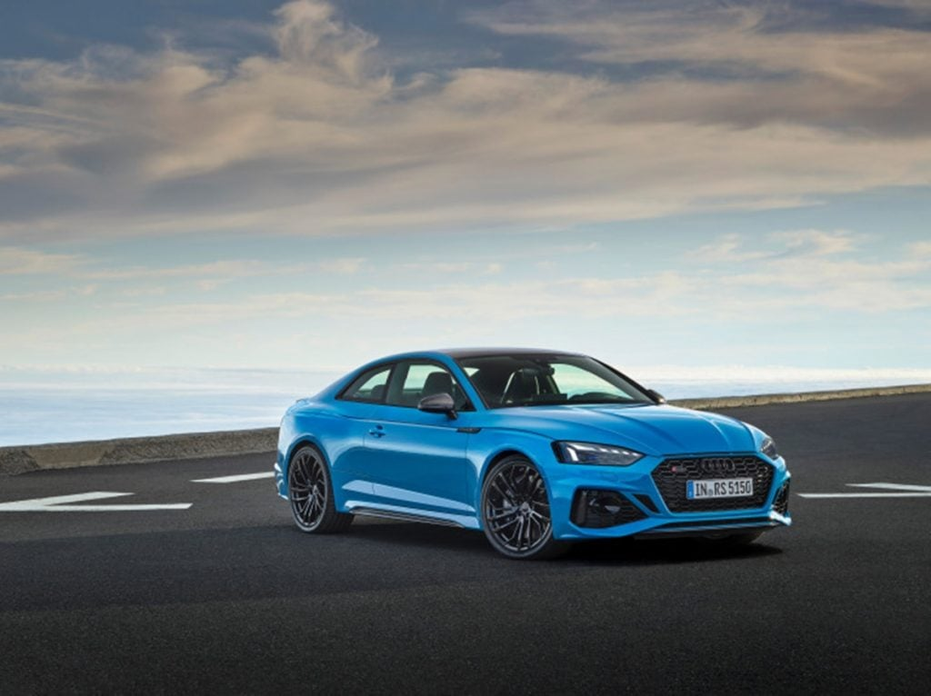 Audi has unveiled the RS5 Coupe and Sportback facelift globally.