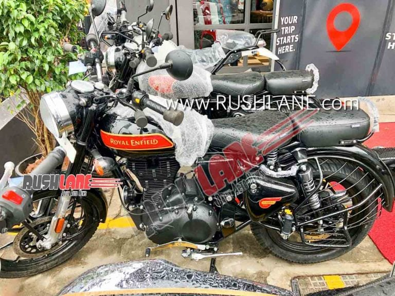 BS-6 Royal Enfield Classic Starts Arriving At Dealerships – Spy Shots
