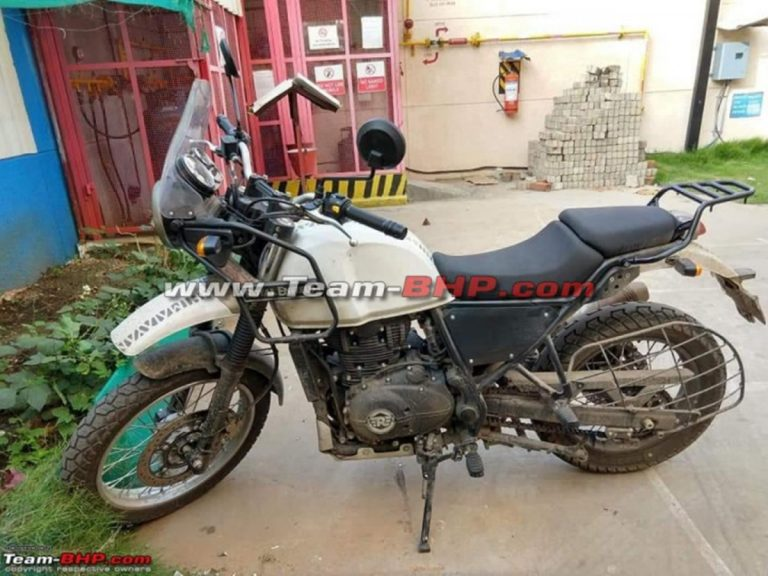 BS-6 Royal Enfield Himalayan Spied for the First Time!