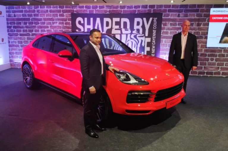 Porsche Cayenne Coupe Launched in India for a Starting Price of Rs. 1.31 Crores