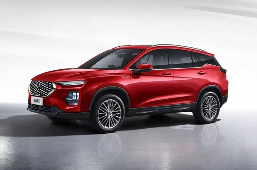 Haima 8S SUV has strong resemblance with the MG Hector and we could see it at the Auto Expo 2020