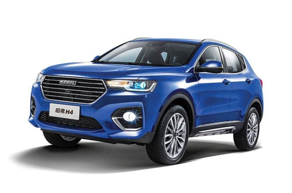 The H4 will be the first SUV from Haval to launch in 2021 in India