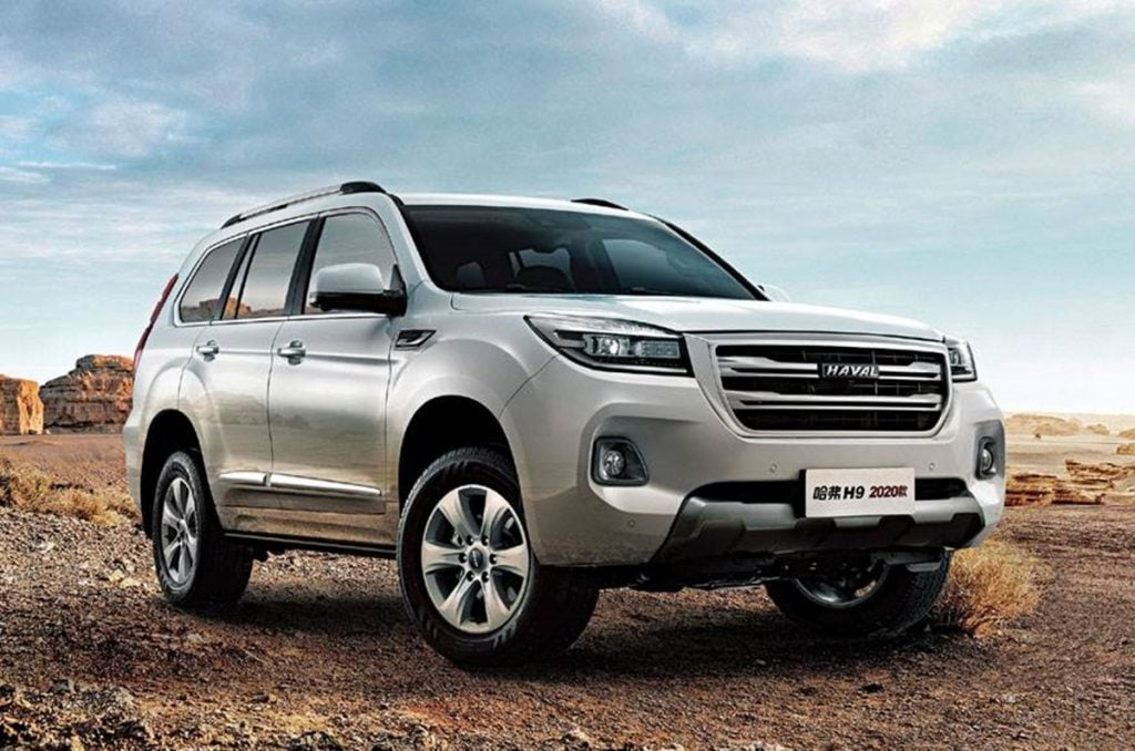 The Haval H9 is a Toyota Fortuner and Ford Endeavor rival.