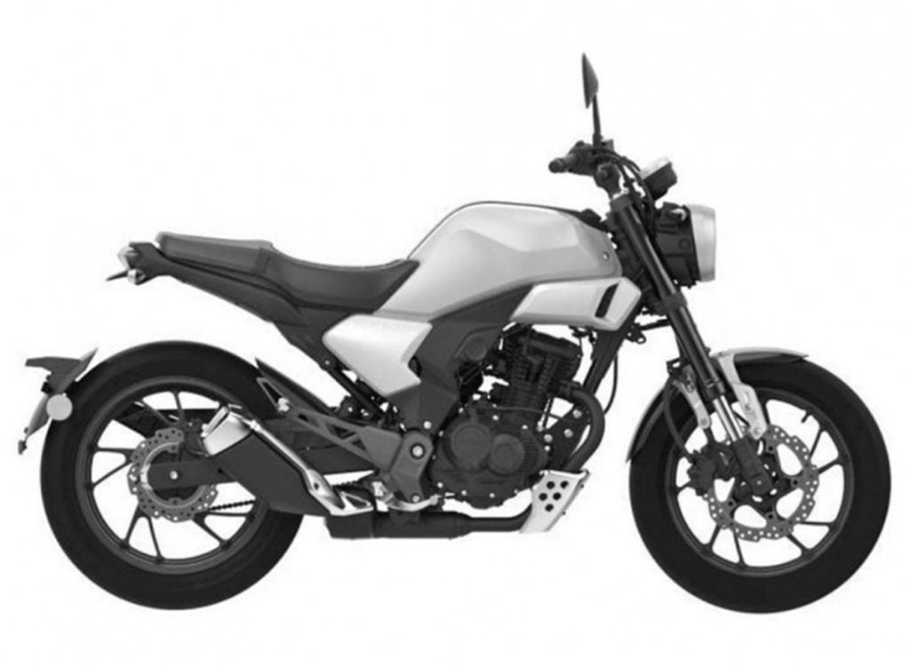 This motorcycle has a lot in common with the CB Hornet 160R sold in India including the chassis and engine.