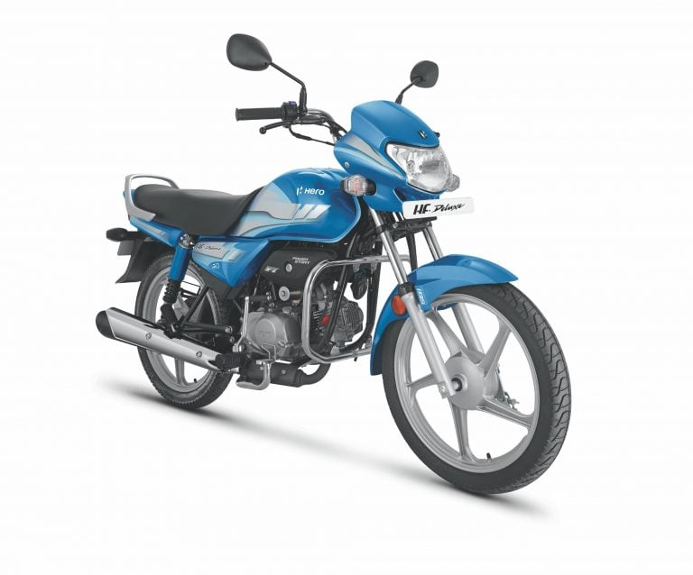 BS-6 Hero HF Deluxe 100cc Motorcycle Launched – Details