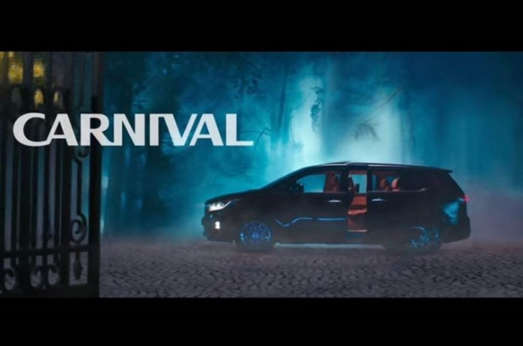 Kia Finally Teases the India-spec Carnival in a Video