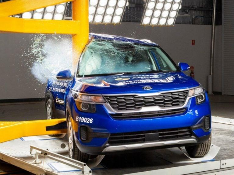 Kia Seltos scores 5-star Safety Rating at the Australian NCAP!