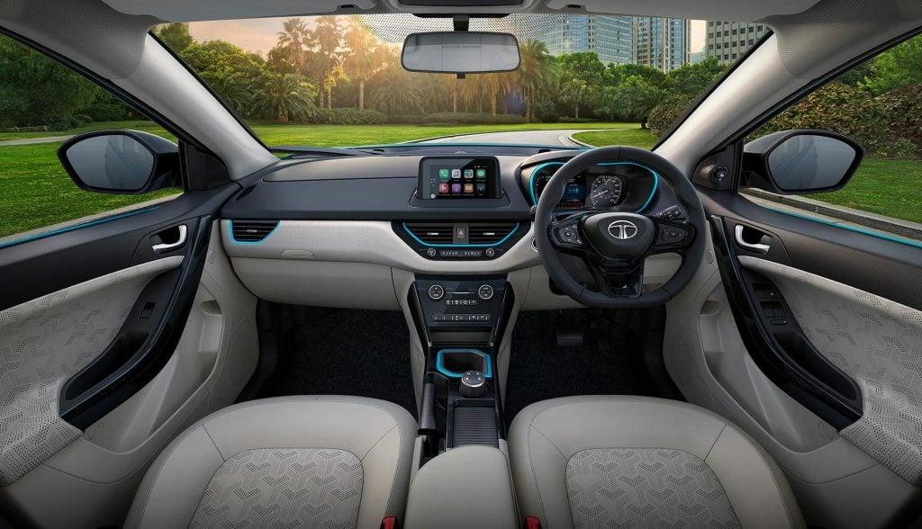 Tata Nexon EV Interior