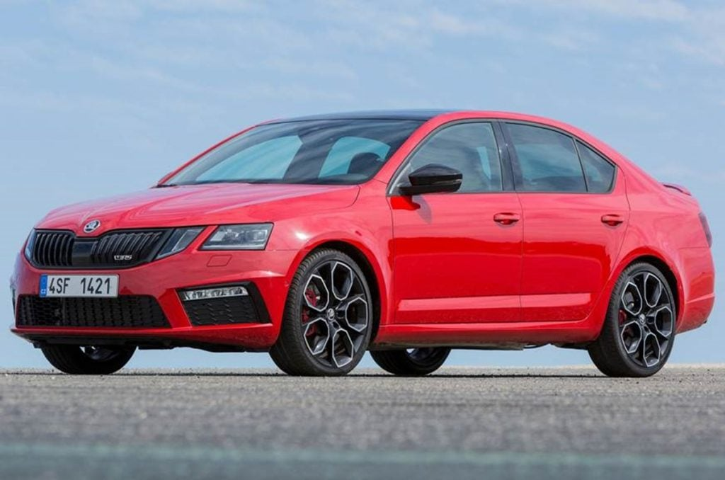Skoda will Bring the Octavia RS to India again at the 2020 Auto Expo!