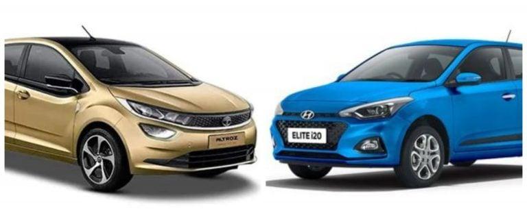 Tata Altroz Vs Hyundai Elite i20 – Specification Comparison