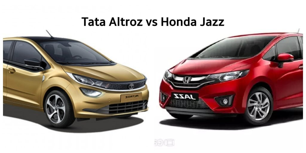 Tata Altroz vs Honda Jazz
