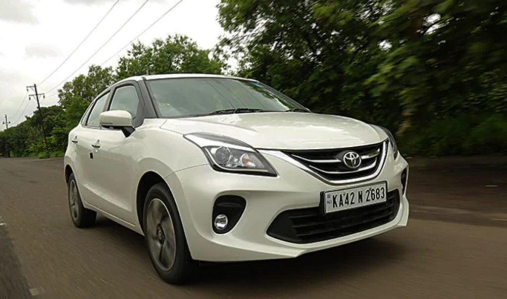 Toyota offre des rabais allant jusqu'à 32 500 roupies sur la Glanza pour juin.