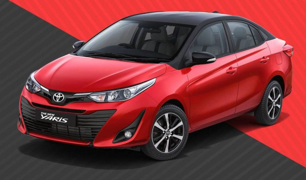 BS-6 Toyota Yaris to Launch in January 2020