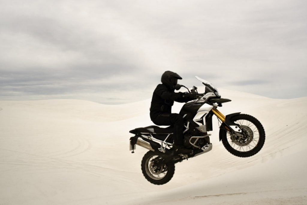 The Triumph Tiger 900 comes in three variants - standard, Rally and GT.