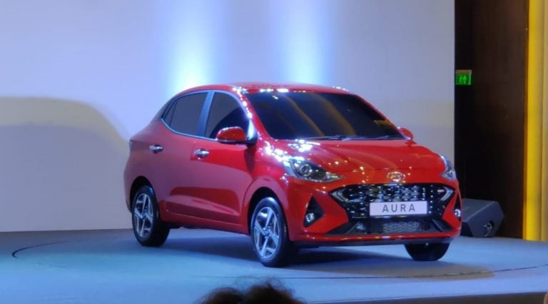 Hyundai Aura Unveiled in India; Here's All The Details