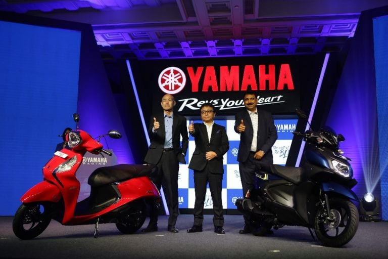 Yamaha Ray ZR 125 And Fascino 125 Launched – All Details