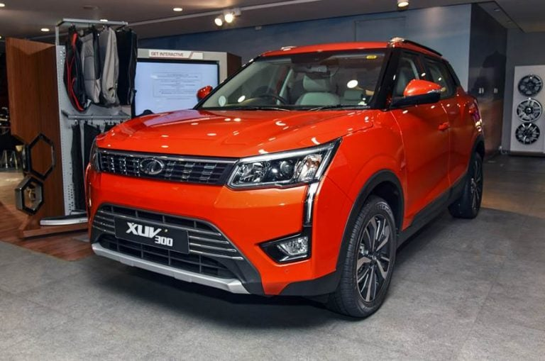 BS6 Mahindra XUV300 Diesel Is The Least Fuel Efficient SUV In Its Class