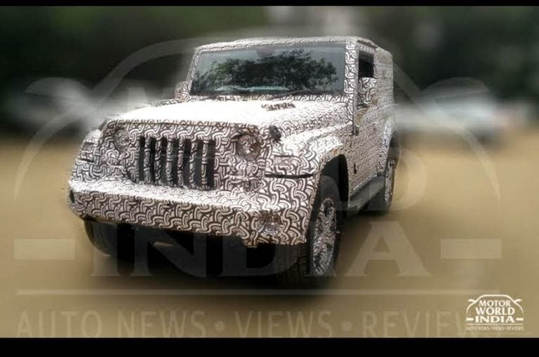 Next-Gen 2020 Mahindra Thar to Get a 2.0L Turbocharged Petrol Engine