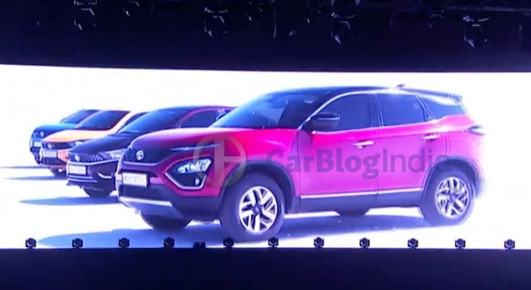 2020 BS6 Tata Harrier To Get Panoramic Sunroof, 18-inch Alloys And More