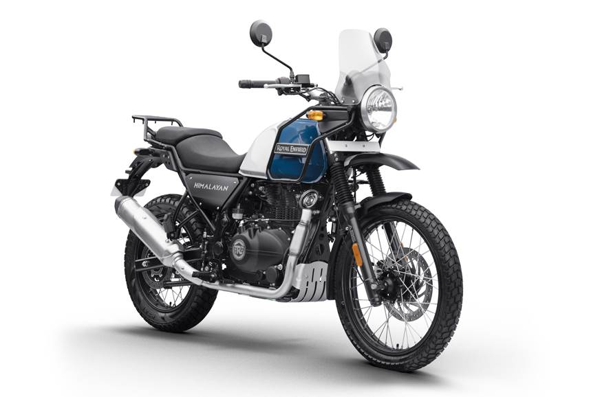 The BS6 Royal Enfield Himalayan too sees a hike in price by Rs 2,754.R