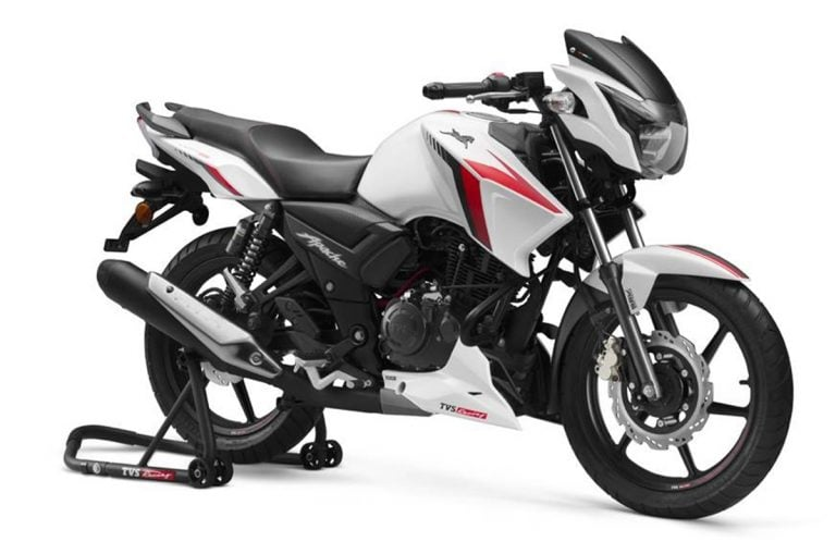 BS6 TVS Apache RTR 160 Launched for a Price of Rs 93,500