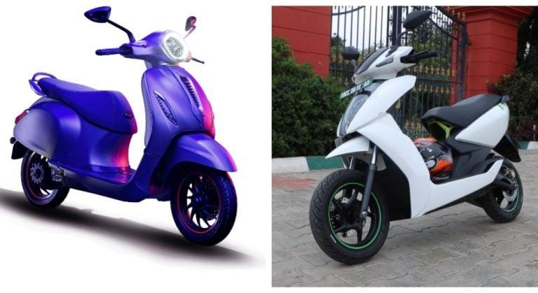 Bajaj Chetak Vs Ather 450 – Electric Scooter Comparison