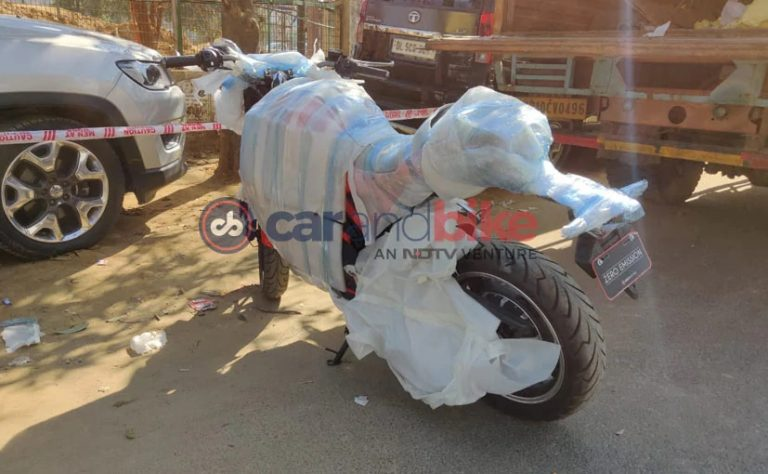 Hero Electric Motorcycle Spied; Debut At 2020 Auto Expo