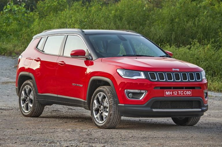 BS6 Jeep Compass Variant-Wise Petrol and Diesel Price Revealed