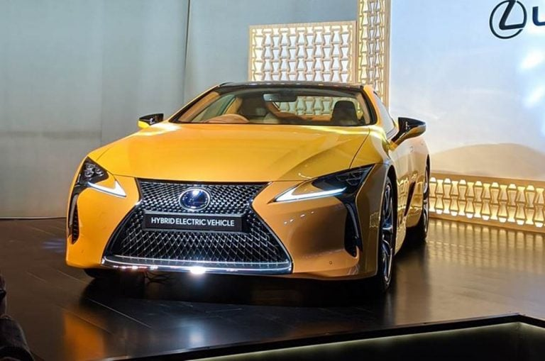 Lexus LC500h Launched in India For a Price of Rs 1.96 crores