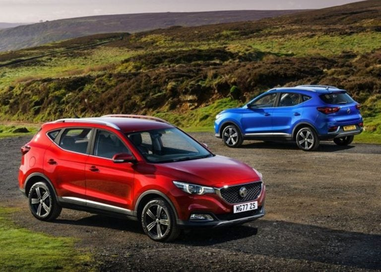 MG ZS SUV Could be Offered With a Range of IC Engines in India!