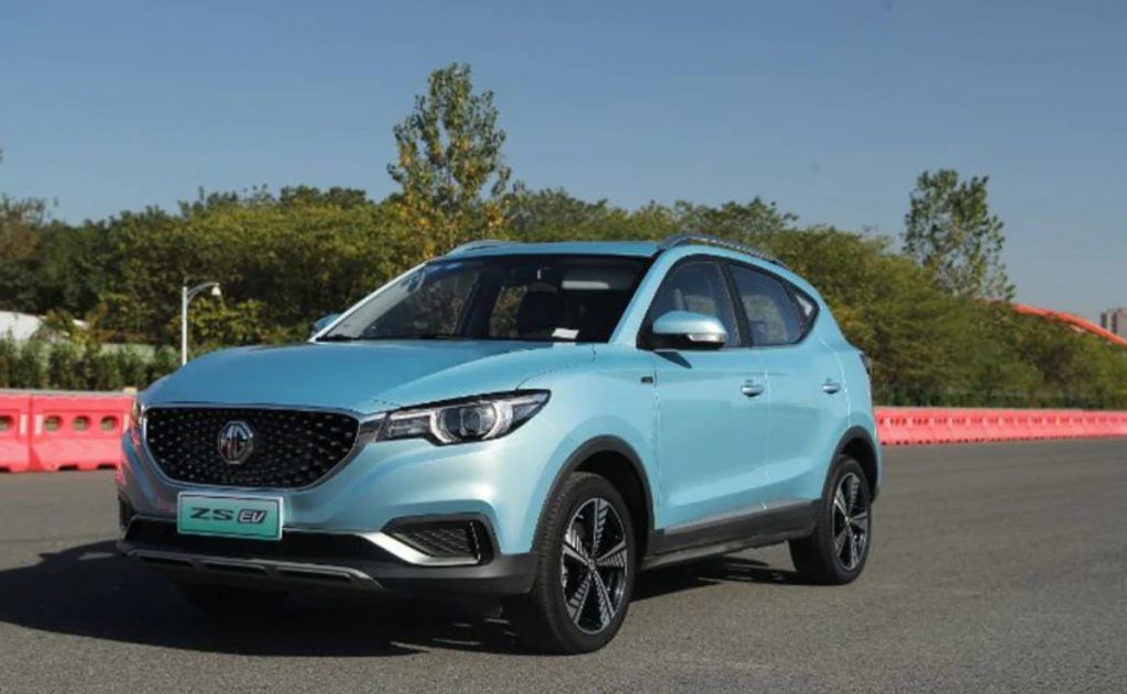 We might also see an ICE powered ZS SUV at the Auto Expo.