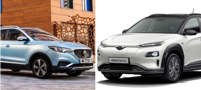 MG ZS EV Vs Hyundai Kona EV – Specification Comparison