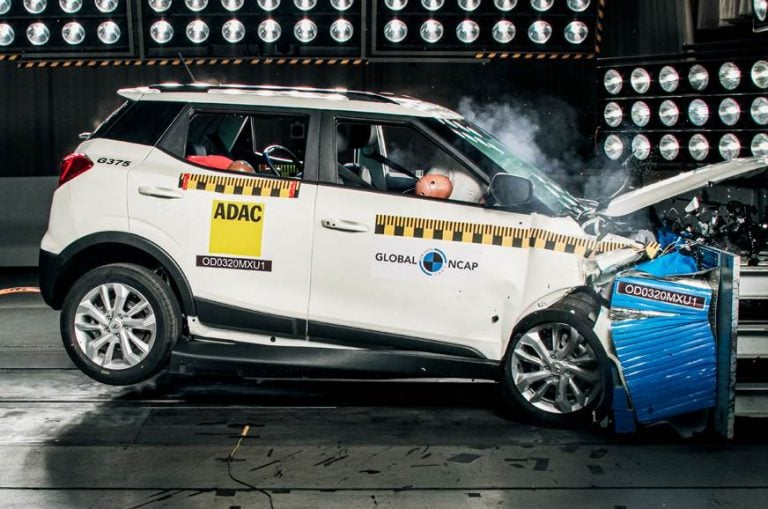 Mahindra XUV300 Scores 5 Stars Safety Rating In Global NCAP Crash Test
