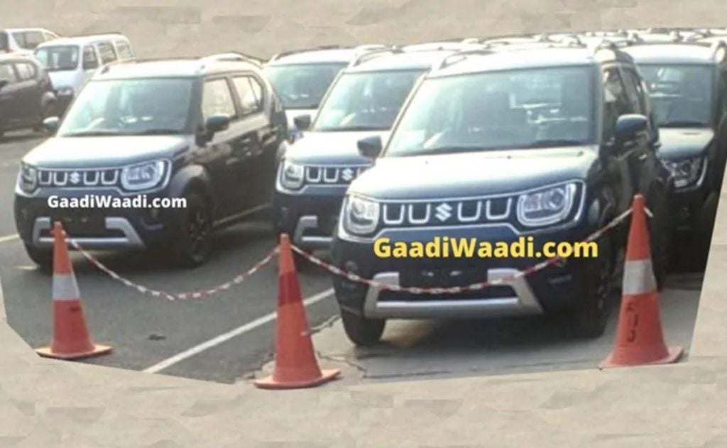 Maruti Suzuki Ignis Facelift Spied Undisguised; could launch at Auto Expo 2020