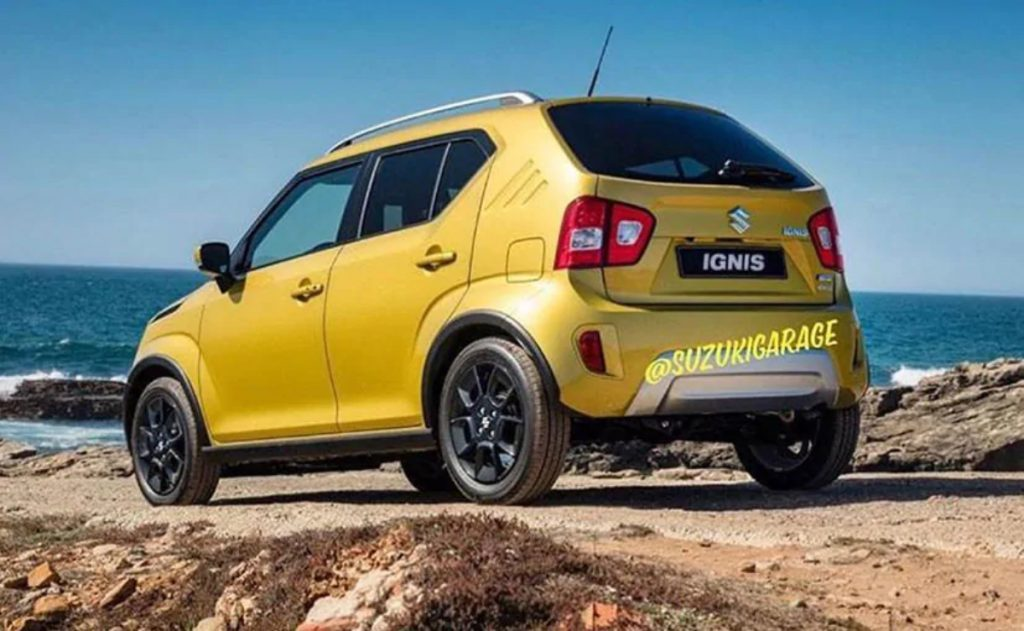 The Ignis Facelift gets subtle cosmetic changes