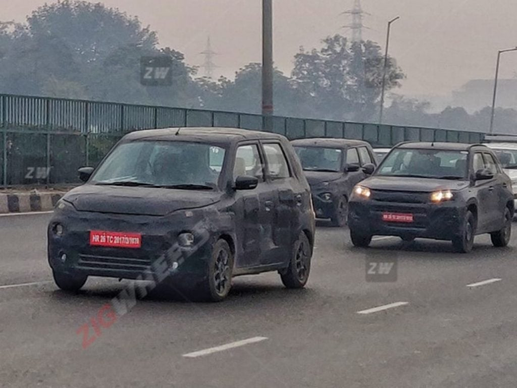 Maruti Suzuki XL5 spotted testing in India along with Vitara Brezza facelift