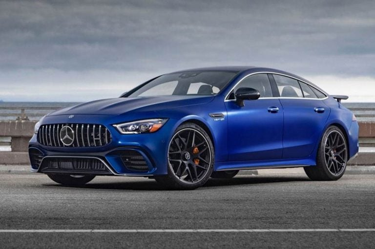 Mercedes Launches AMG GT 4-door Coupe in India at 2020 Auto Expo