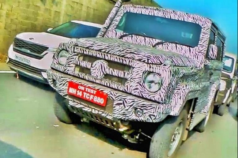 Next-Gen 2020 Force Gurkha Spied; Likely to Debut at Auto Expo 2020