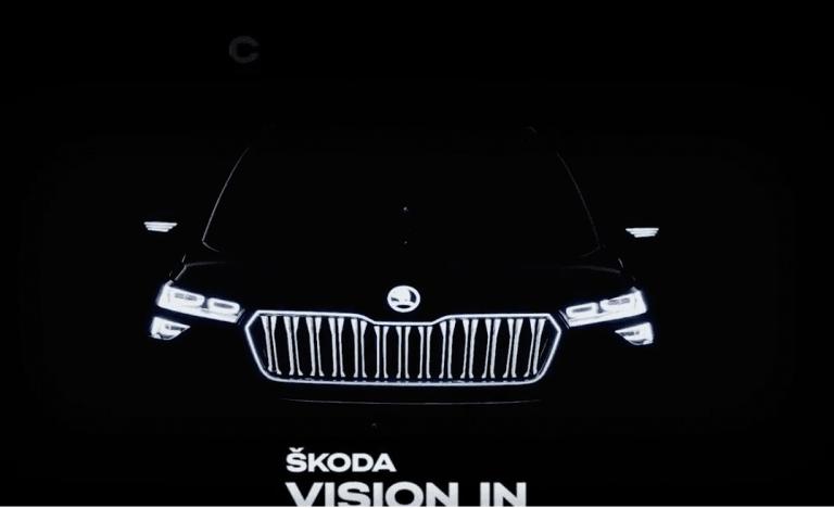 Skoda Vision SUV Video Teaser Out; Will Rival Kia Seltos And Hyundai Creta