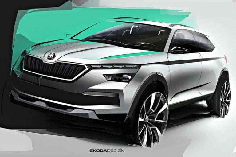Skoda Vision IN Concept to Debut in India on February 3!
