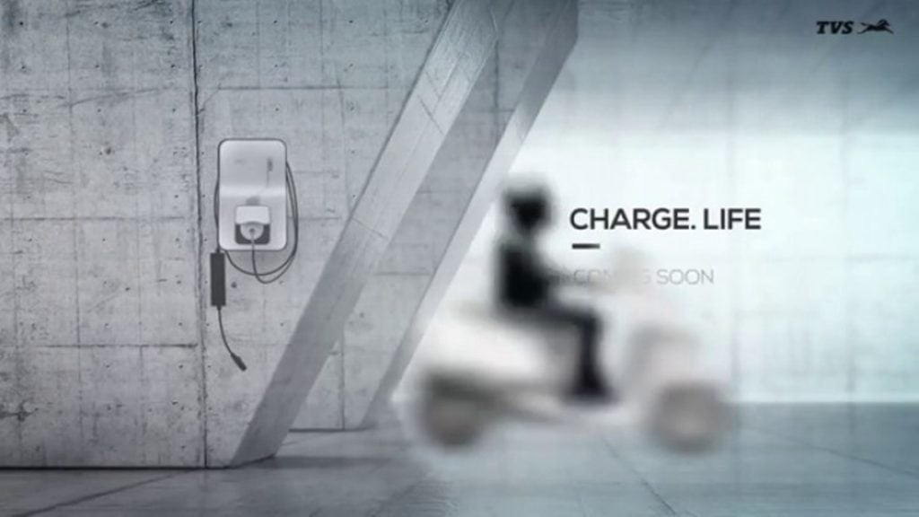 TVS electric scooter teased to be unveiled on January 25.