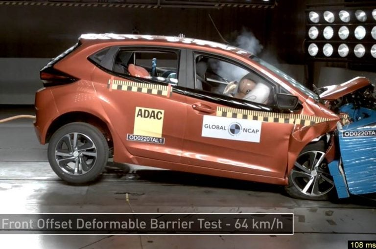 Tata Altroz scores Five-Star Safety Rating in Global NCAP Crash Test!