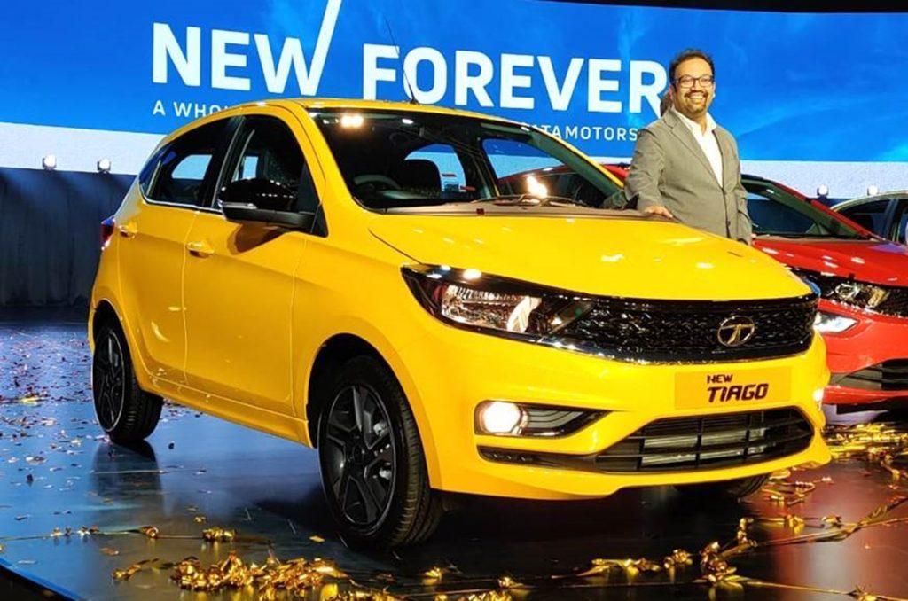 Le lifting Tata Tiago doit être l'une des petites voitures les plus économes en carburant avec son seul moteur à essence.